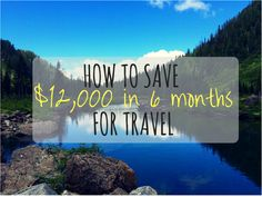 How to save money for traveling! Note: this post is a joke/sarcastic post.