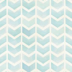Faded Blue Chevron Removable Wallpaper Wall Decal