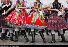 Traditonal Hungarian cloths for traditional dancing