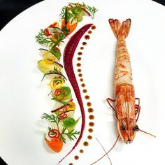 posted via - gorgeous plating chef Food Design, Food Plating Techniques, Plate Presentation, Food Carving, Star Food, Food Decoration, Culinary Arts, Creative Food, Food Styling