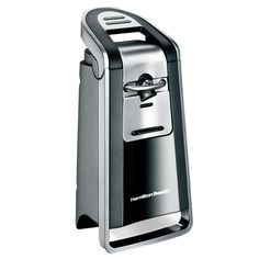 Hamilton Beach Smooth Touch Can Opener (Recertified/ Refurbished) (Hamilton Beach Smooth Touch Can Opener - Black) (Metal)