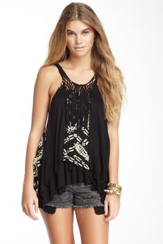 Free People Delhi Tigerlilly Tank by Free People on @nordstrom_rack