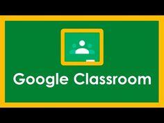 TUTORIAL DE GOOGLE CLASSROOM - 2020 - YouTube Material Didático, Professor, Flipped Classroom, Microsoft Excel, English Class, Google Classroom, Creative Logo, Teacher, Letters
