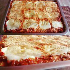 Lasagna de polenta