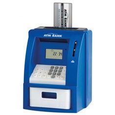 Blue ATM Money Box Gadget   Australian Geographic Shop Online
