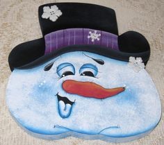 Mr. Freeze #Tole_painted, #Cookie #Candy Jar lid