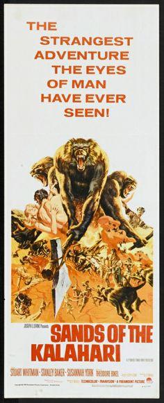 Sands of the Kalahari (1965) Stars: Stuart Whitman, Stanley Baker, Susannah York, Harry Andrews, Theodore Bikel, Nigel Davenport ~  Director: Cy Endfield