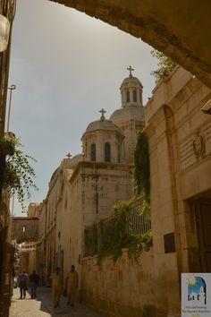 WAY OF THE CROSS - Via Dolorosa, Jerusalem, Israel - Station 2