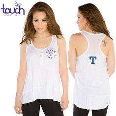 Texas Rangers Cascade Tank - MLB.com Shop