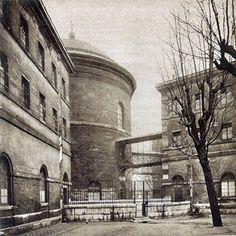 Tour ronde de la prison de la Petite Roquette, 1929.