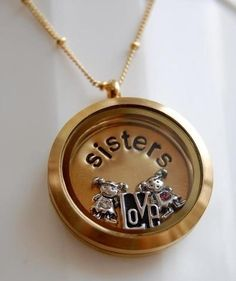 Sisters Tell your story with an Origami Owl living locket Like it, place an order. https://Dtravers46783.origamiowl.com