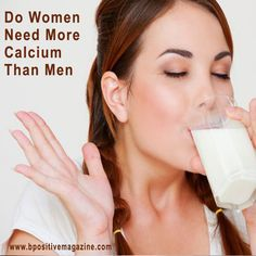 The Importance Of #Calcium - we need to maintain enough bone stock up with adequate calcium intake and exercise.