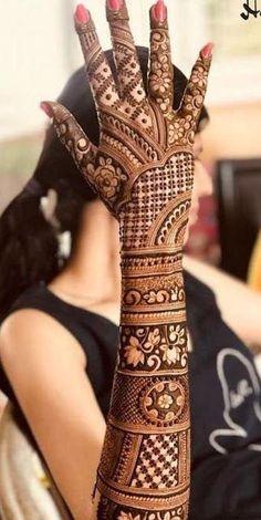 Henna Hand Designs, Mehndi Designs Finger, Wedding Henna Designs, Indian Henna Designs, Engagement Mehndi Designs, Latest Bridal Mehndi Designs, Legs Mehndi Design, Full Hand Mehndi Designs, Mehndi Designs 2018