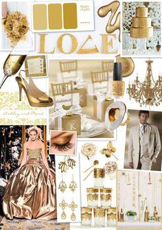 http://weddinginspirations.co.za/golden-glamour/gold-mood-board