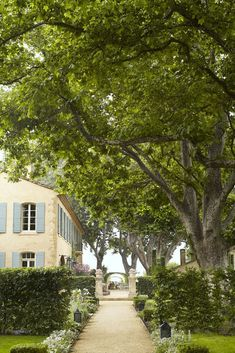 This farmhouse in Provence is designed by Susan Bednar Long for her long time client. Her client's dream is to have a ho. French Style Homes, French Country Style, French Country Decorating, French Country Gardens, Rustic Gardens, French Decor, Pierre Frey, French Cottage, French Farmhouse