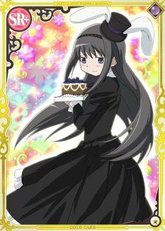 Akemi Homura  - Madoka Magica Mobage Cards