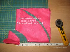 Poodle Skirt Tutorial for 18 inch doll