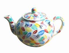 Handpainted teapot.