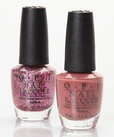 Revealing Polish GIRL!-Kreme De La Kremlin & You Glitter Be Good to Me Nail Polish Set by OPI on #zulily today($7.99 sets)!