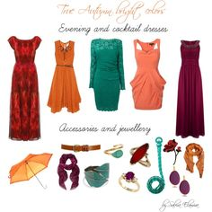 """""""True autumn bright colors"""" by sabira-amira on Polyvore"""
