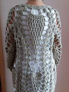 Damen Shirt Vintage Melange Look Go Shopping Muster 34 36 38 Ecru