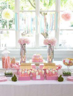 Naomi's 1st Birthday Sugar and Spice Dessert Table <3