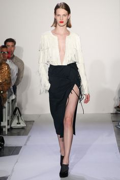 Altuzarra Spring 2014 Ready-to-Wear Fashion Show - Ashleigh Good