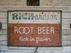 RICHARDSON Root Beer.  Richardson!