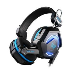 PS4 EACH GS210 Stereo Gaming Headphone with Mic Colorful LED Light