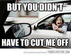 Gotye in traffic…