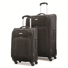 "Samsonite Victory 2 Piece Nested Softside Set (21""/29""), Black, Only at Amazon$112.18"