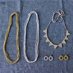 000/ネックレス/Lace triangle(ゴールド) - 北欧、暮らしの道具店