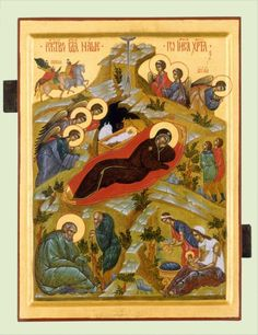 Orthodox Icons, Sacred Art, Special Day, Christianity, Painting, Nativity Scenes, Painting Art, Paintings, Painted Canvas