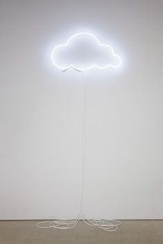 Neon cloud, because light bulbs are so cliche