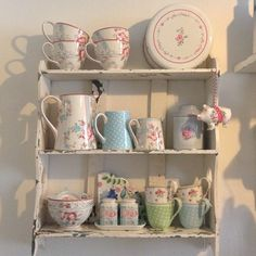 Shabby and Charme: Romantic vintage nel cottage di Suzanne