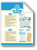 Math Games (Grades 1-2): Number Words 4-in-a-Row (Reads Number Words). Download it at Examville.com - The Education Marketplace. #scholastic #kidsbooks @Karen Echols #teachers #teaching #elementaryschools #teachercreated #ebooks #books #education #classrooms #commoncore #examville 1st Grade Math Games, 4 In A Row, Number Words, Study Guides, Grade 1, Elementary Schools, Teaching Resources, Ebooks, Classroom