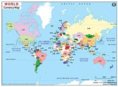 World Currency Map World Economic Forum, Language, Names, Globes, Origins, Bing Images, Business, Google, Argentina