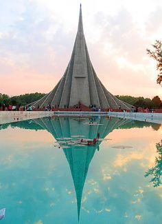 Jatiyo Sriti Soudho- National Martyr's Memorial - Savar, Bangladesh.
