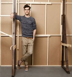 """The rolled-up-pants thing is too """"young"""" for a man of my years, but I like the slimmer fit."""