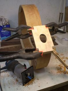 Routing Soundhole