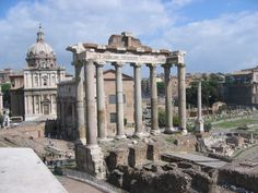 AirNinja.com   Pictures of Rome, Italy. Rome photos - Roman Forum
