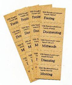 """DDR Museum - Museum: Objektdatenbank - Essensmarken """"VEB Fleischverarbeitungsbetrieb Schwedt""""    Copyright: DDR Museum, Berlin. Eine kommerzielle Nutzung des Bildes ist nicht erlaubt, but feel free to repin it!"""