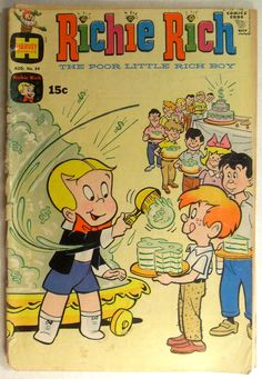 I loved these comic books! Used to think this was my cousin because he was rich and we weren't.