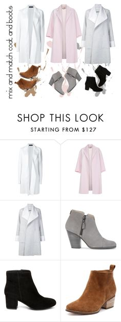 """""""Coats and boots"""" by fleuramour on Polyvore featuring Calvin Klein Collection, Paul Smith, ADAM, rag & bone, Steve Madden, outfit, Boots, ootd, coat and fashionset"""