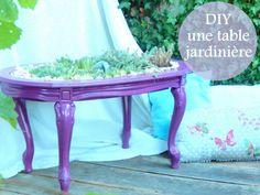 diy une table jardinière