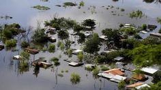 Überschwemmungen in Asuncion, der Hauptstadt von Paraguay