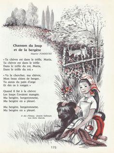 Chanson du loup et de la bergère (Maurice Fombeure)