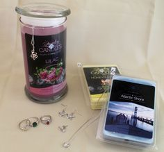Strawberry Kiwi Candle - Jewelry In Candles the only company you can choose your Ring Size or Favorite Jewelry in every scented product.