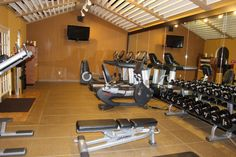 Fitness Center at the DoubleTree by Hilton Orlando Airport Hotel Orlando Airport, Airport Hotel, Airport Shuttle, Hotel Reviews, Fitness, Home, House, Homes, Excercise