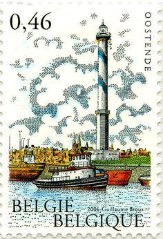 #Lighthouse - #Faros: De Nieuport, #Belgica, 2005 - http://dennisharper.lnf.com/
